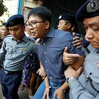 Judge rejects request for dismissal of jailed Reuters reporters case