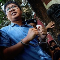 Myanmar seeks charges against two Reuters reporters